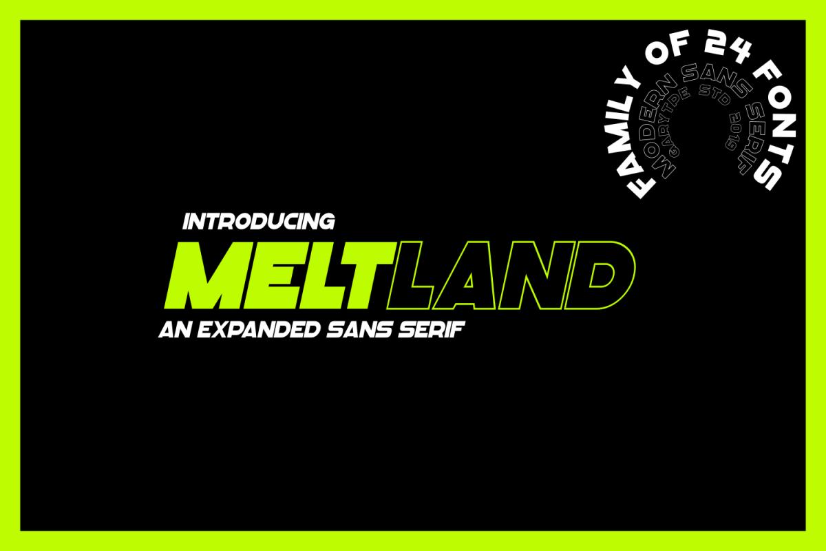 Meltland Font Family example image 1