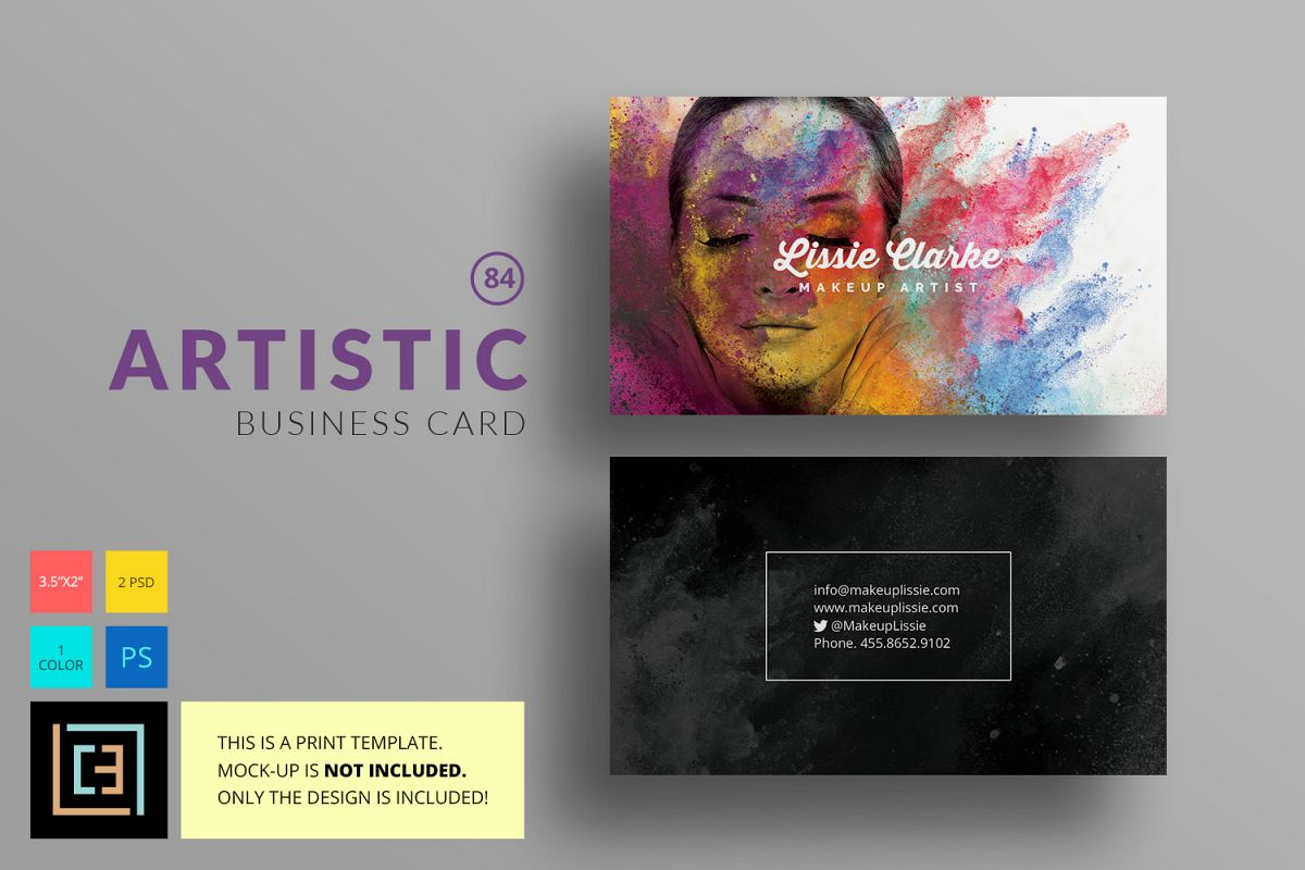 Artistic Business Card Bc084