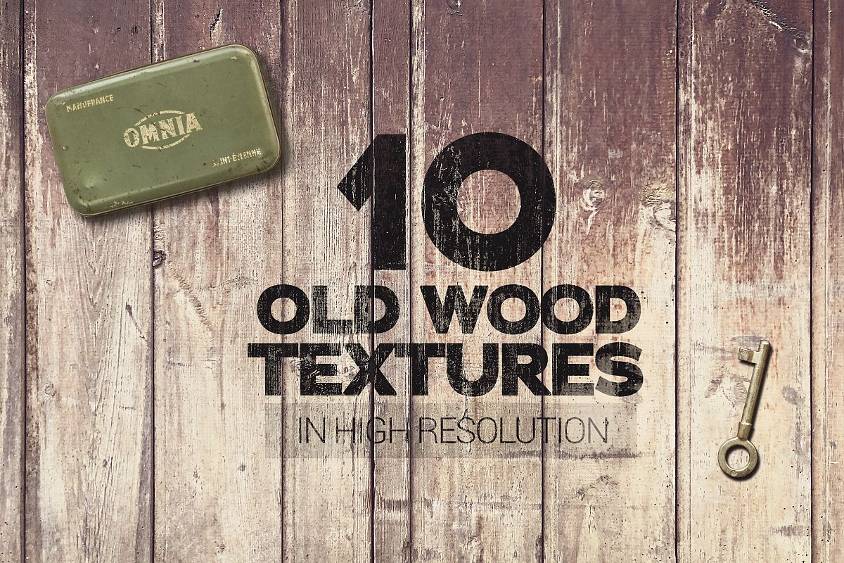 Old Wood Textures x10 example image 1