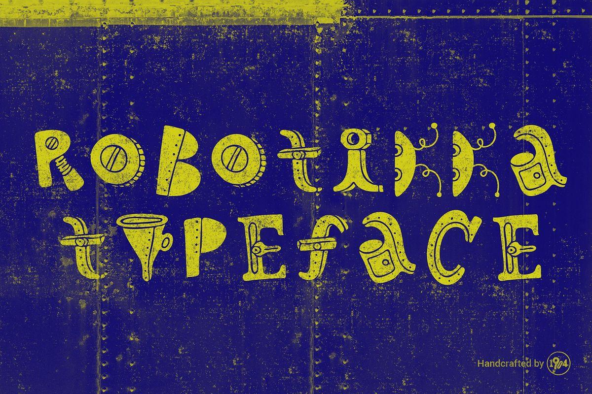 Robotikka Typeface example image 1