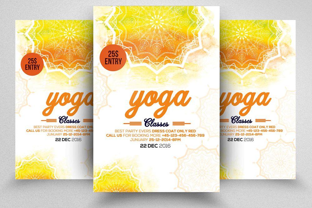Yoga Flyer Template 02