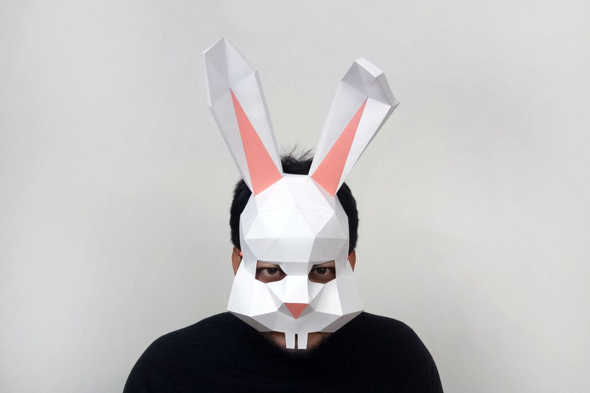 DIY Easter Bunny Mask