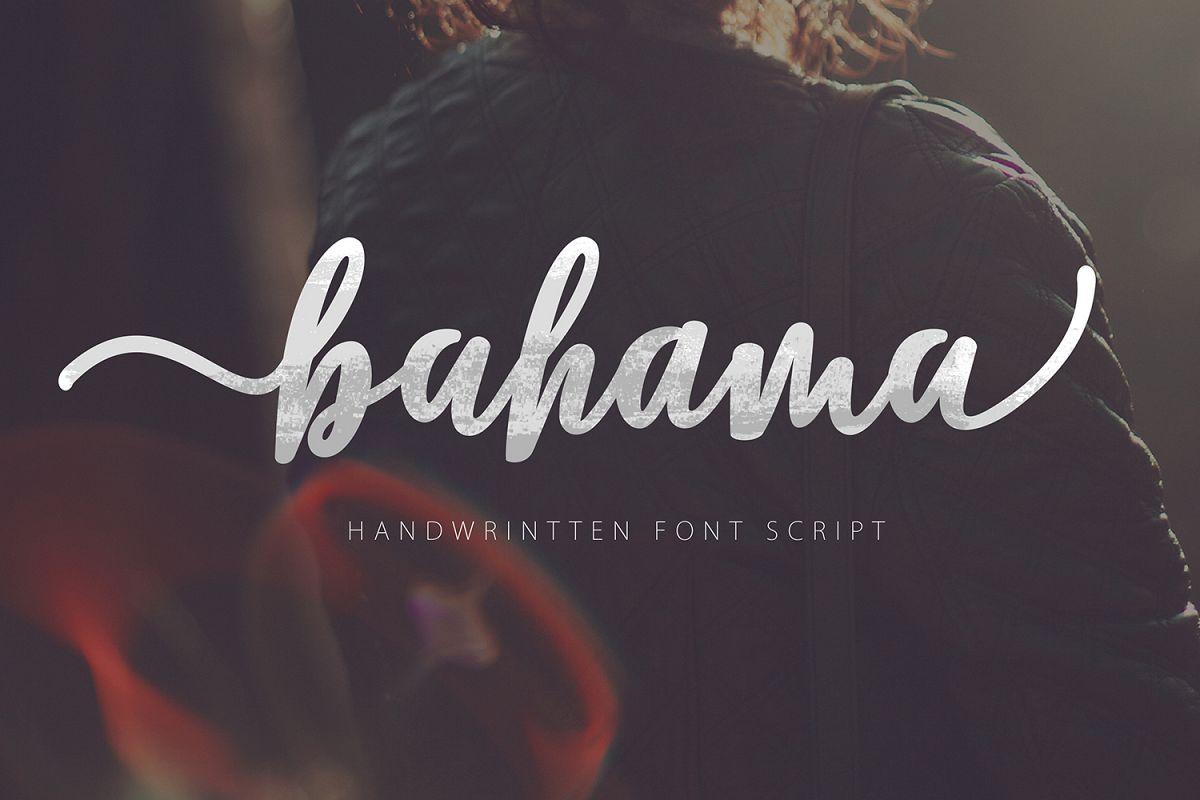 Bahama Script example image 1