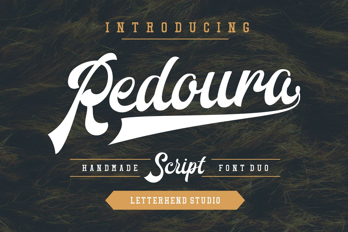 Redoura Font Duo (20% OFF) example image 1