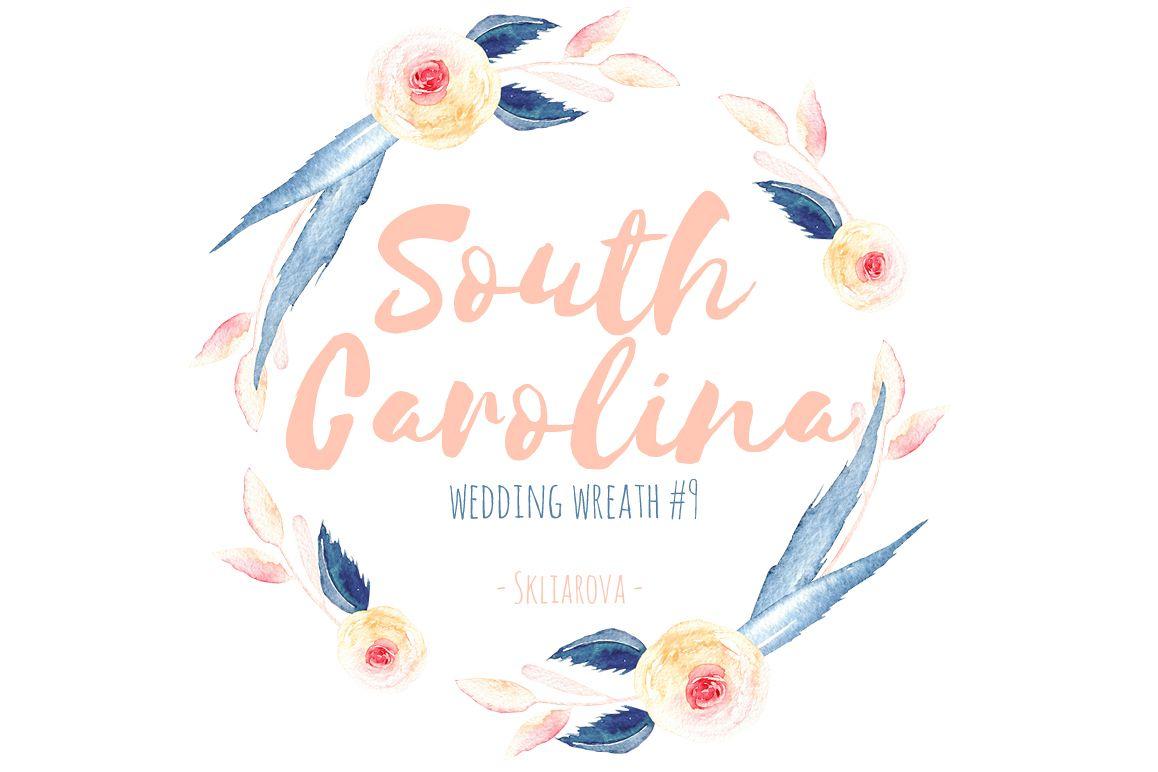 South Carolina. Wreath #9 example image 1