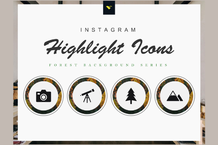 190 Set of Completed Instagram Highlight Cover Icons example image 1