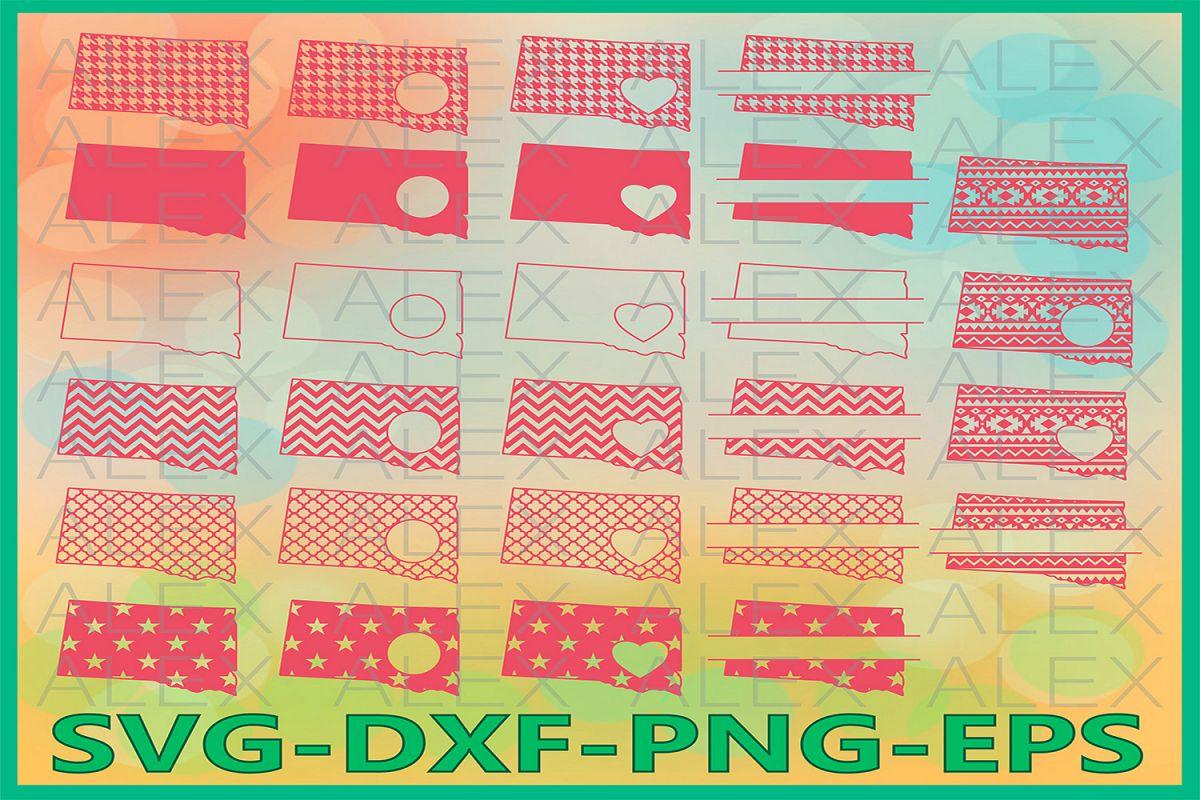 South Dakota State SVG, South Dakota SVG files for Cricut example image 1