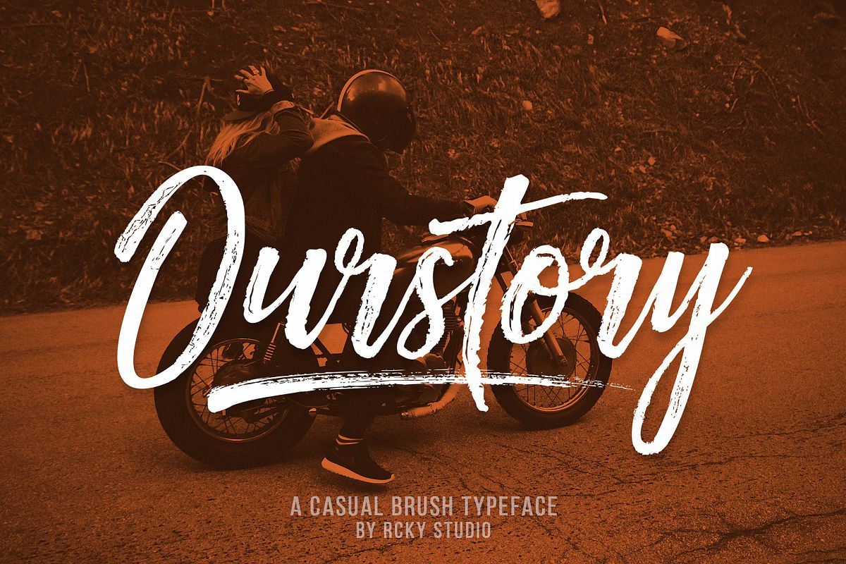 Ourstory Font Duo example image 1
