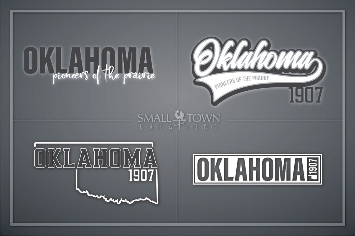 Oklahoma, Pioneers of the Prairie, PRINT, CUT & DESIGN example image 1