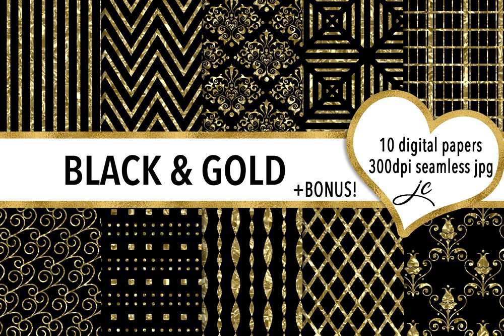 Black and Gold example image 1