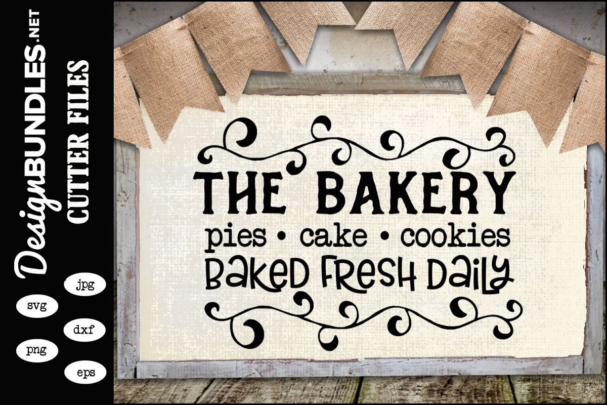 The Bakery SVG example image 1