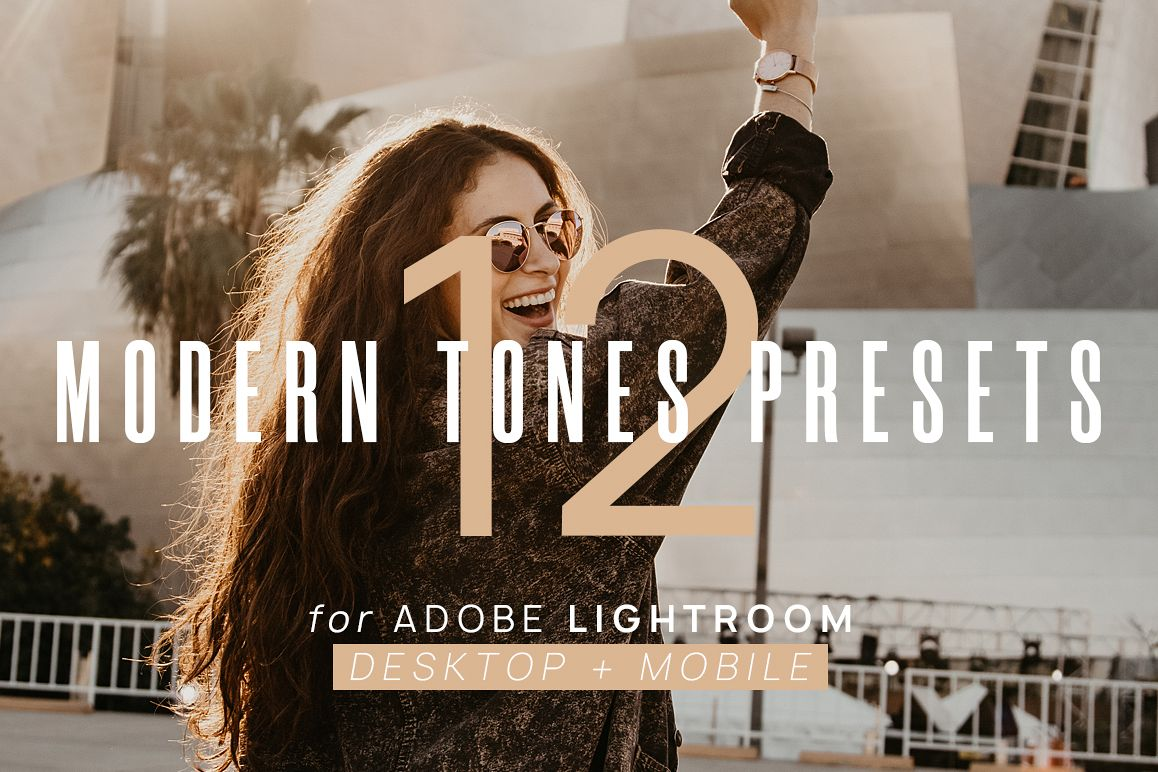 12 Modern Tones VSCO Presets for Lightroom Desktop & Mobile