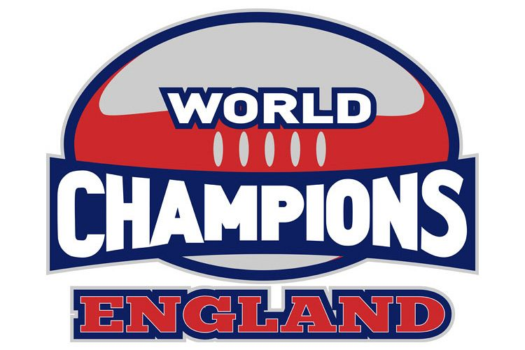 rugby ball world champions England example image 1