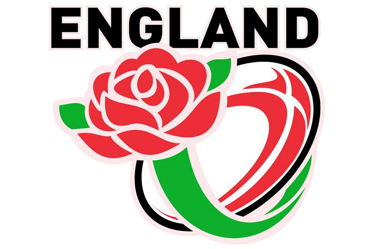 Rugby England English Rose Ball Flag example image 1