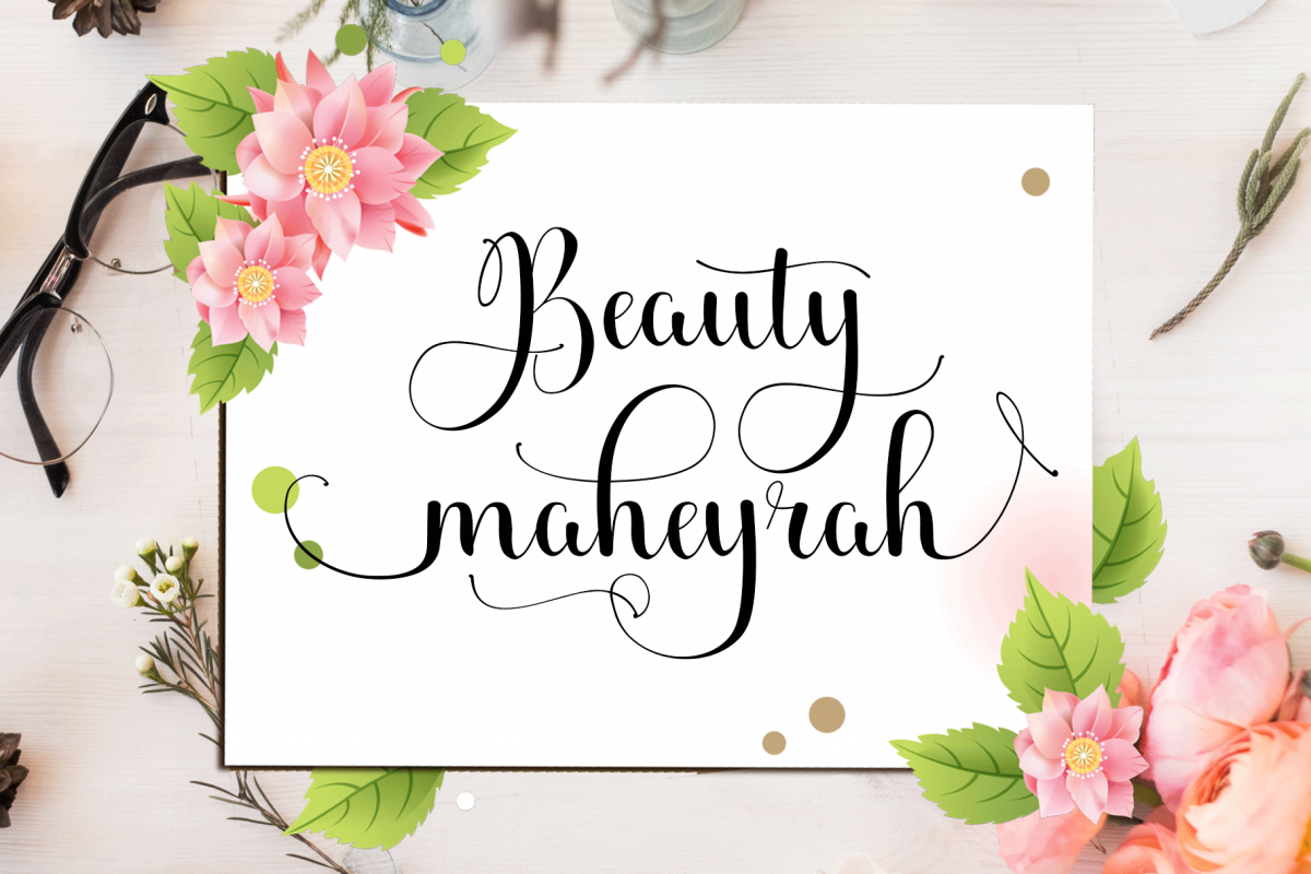 Beauty maheyrah example image 1
