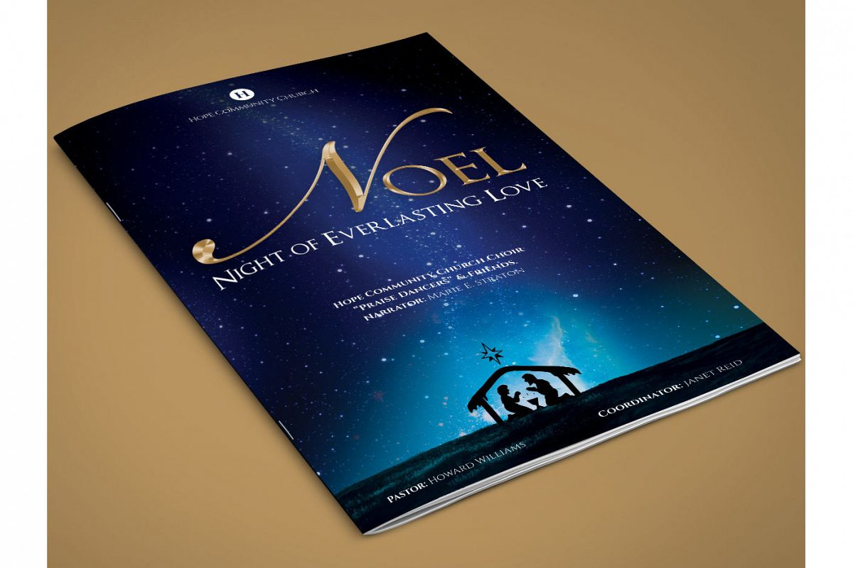 Noel Christmas Brochure Template