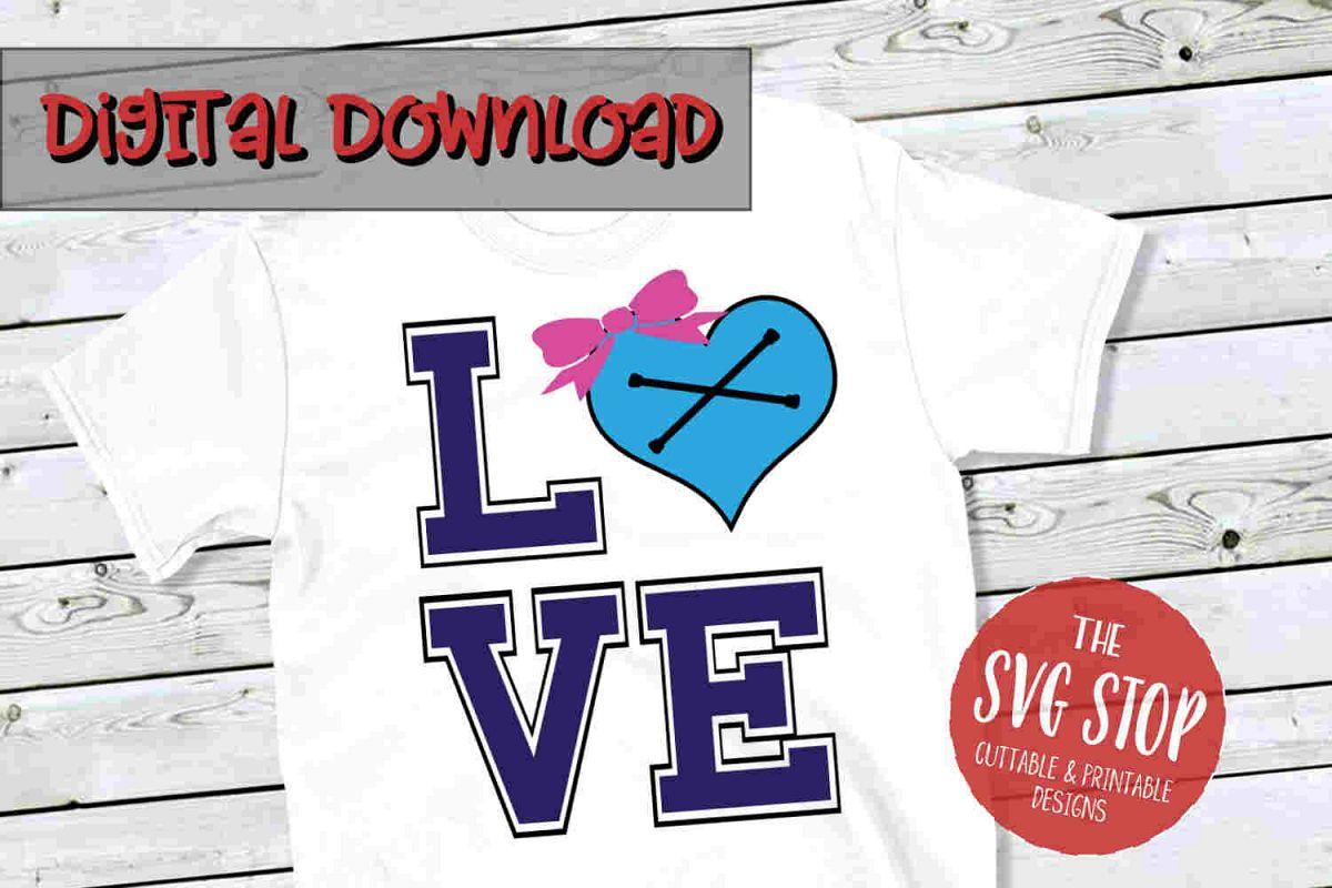 Love Majorette 3 -SVG, PNG, DXF example image 1