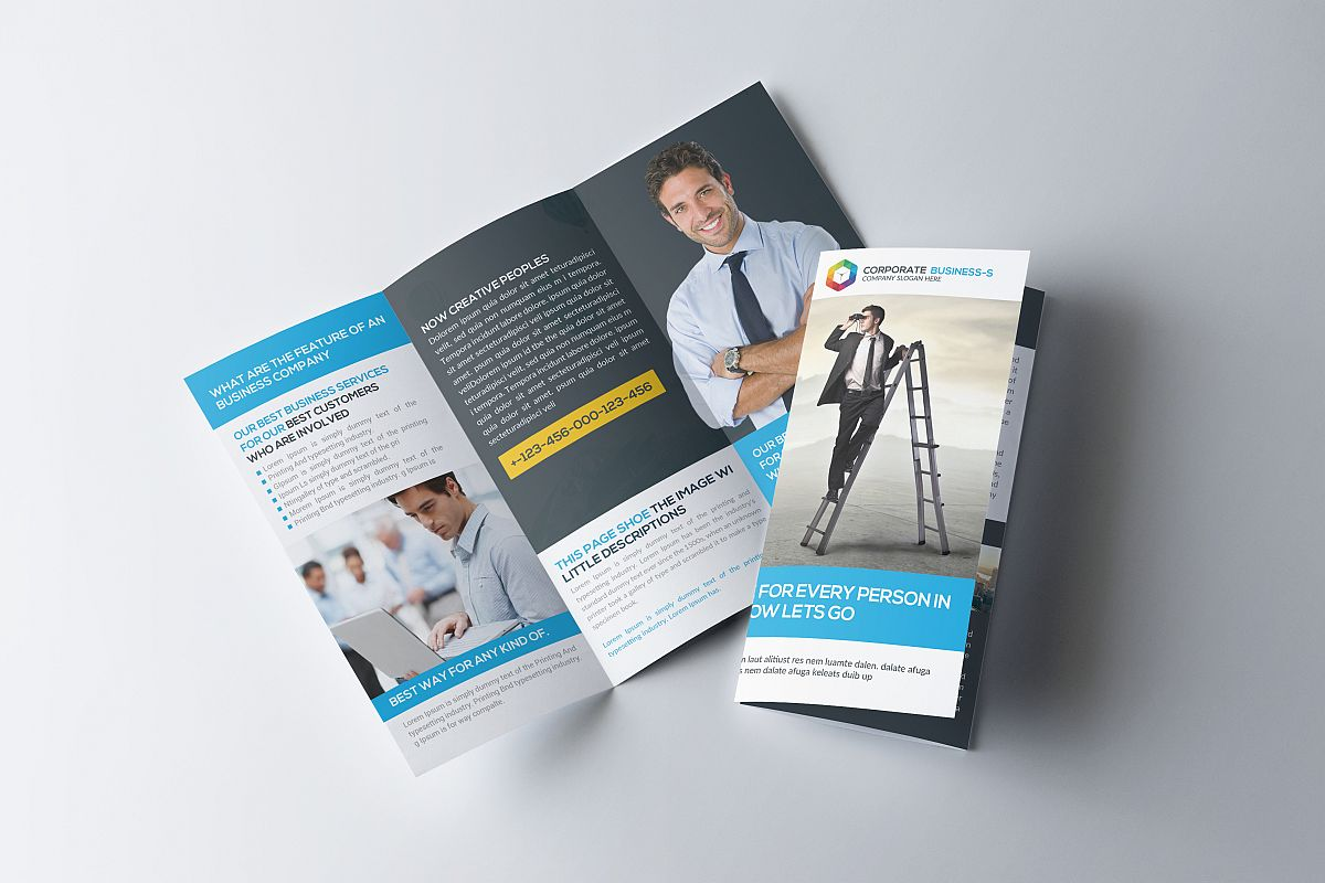 Trifold Company Psd example image 1