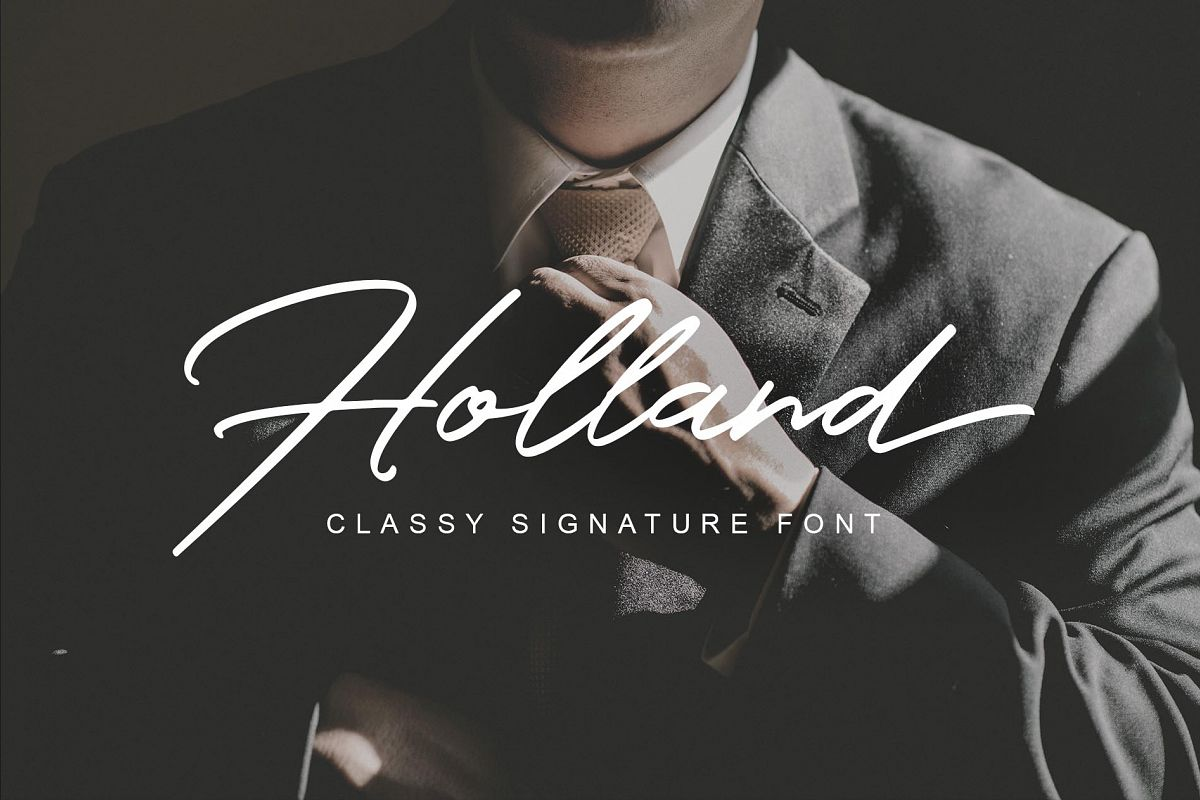 Holland Font example image 1
