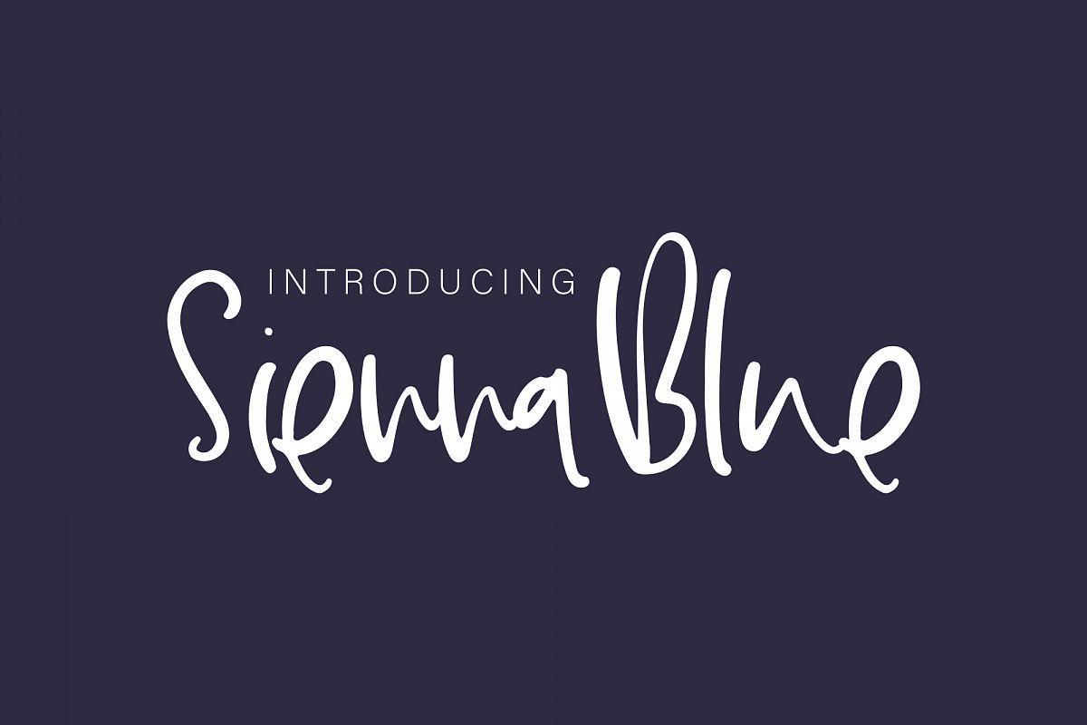 SiennaBlue example image 1