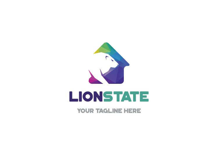 Lion Home Logo Design example image 1