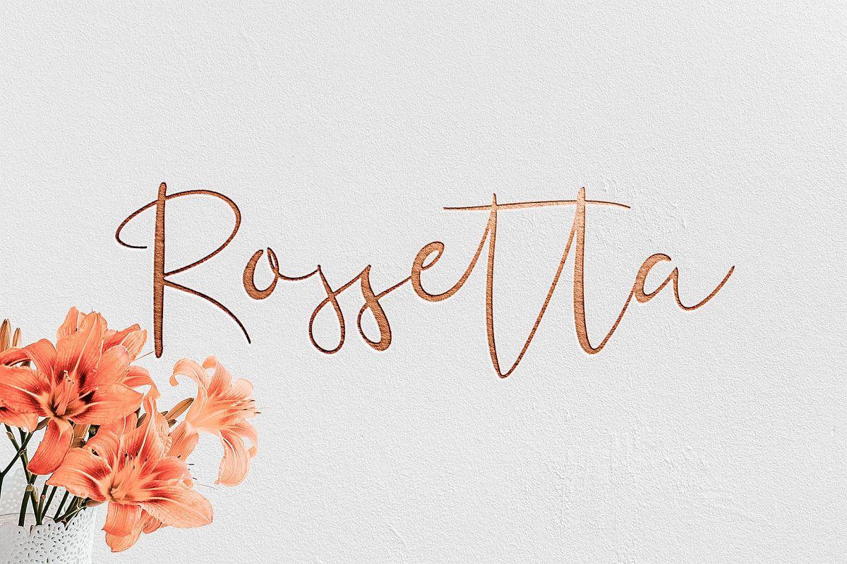 Rossetta example image 1