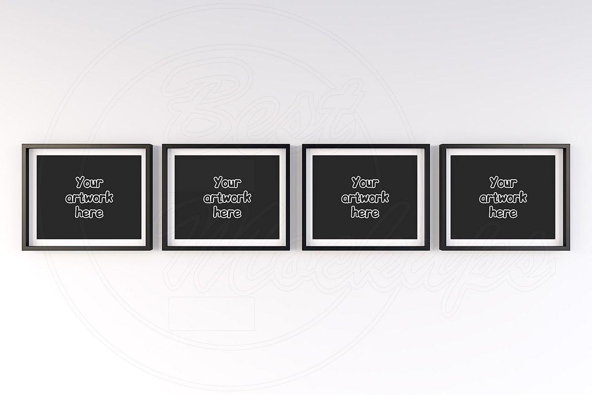 Art print mock-up frame landscape example image 1