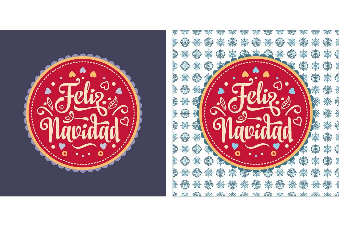 Merry Christmas Lettering.Merry Christmas Lettering Composition With Phrase In In Spain Christmas Decoration Winter Toy Feliz Navidad