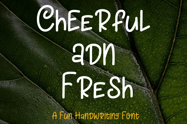 Cheerful And Fresh example image 1