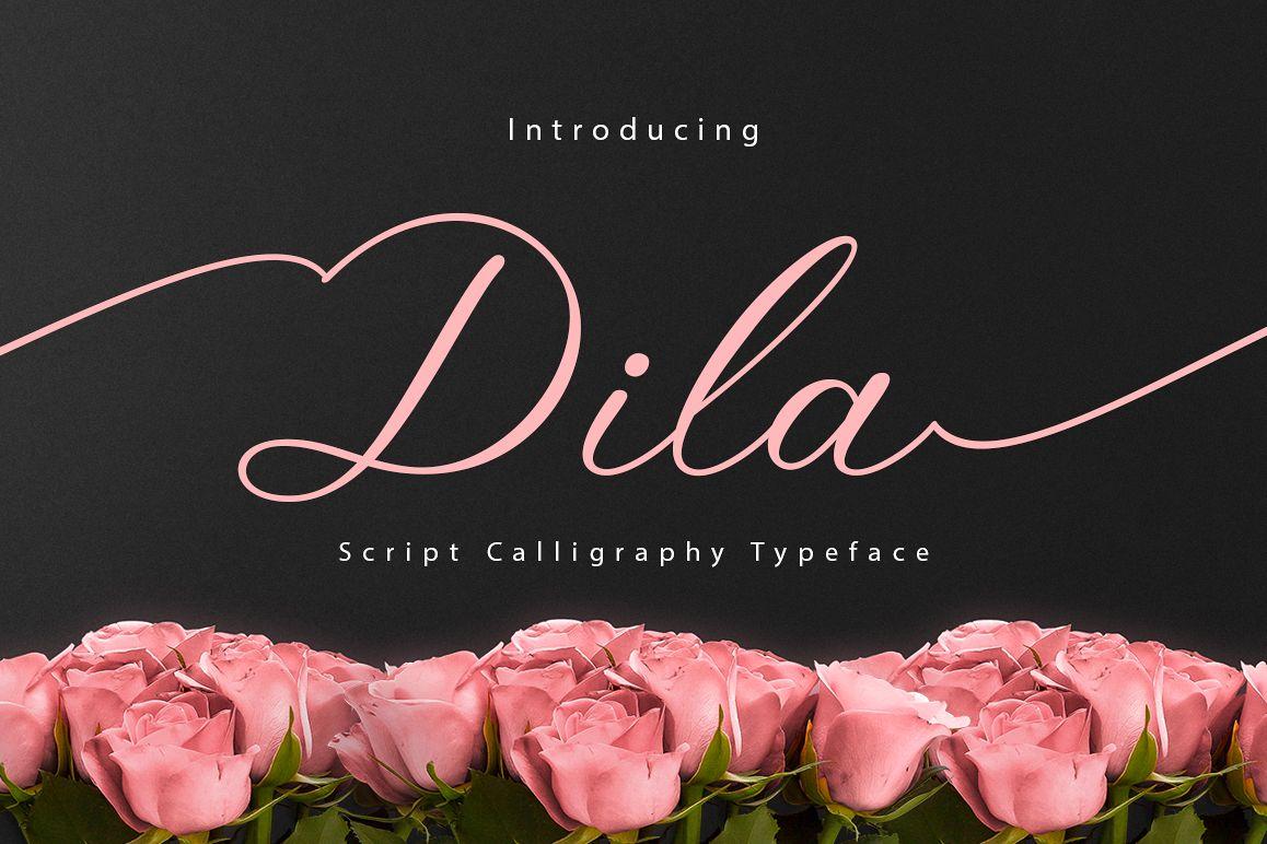 Dila Script example image 1
