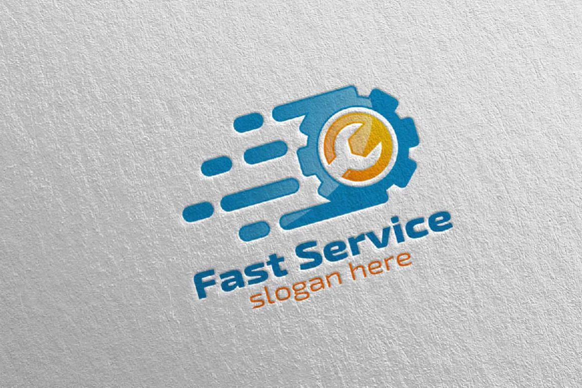 Car Service Logo with Car and repair Concept 7 (109428 ...