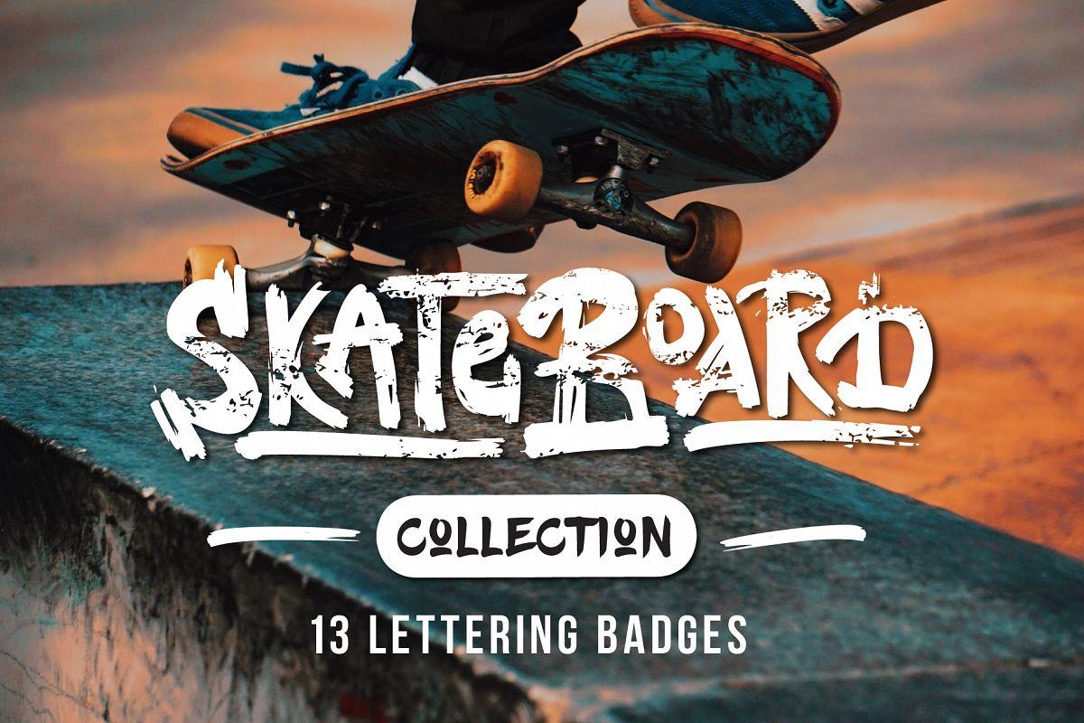 Skateboarding t-shirt design example image 1