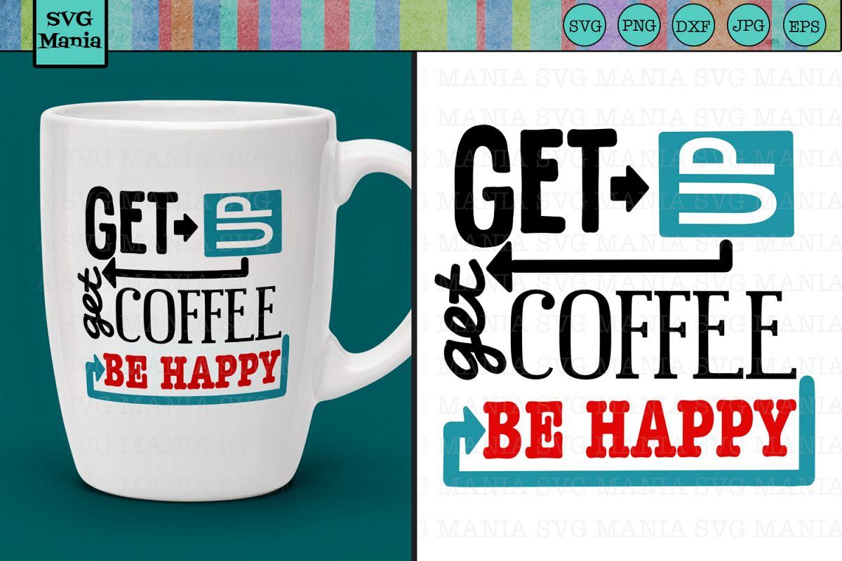 Funny Coffee Mug/Cup SVG File, Coffee Saying SVG, Coffee SVG example image 1