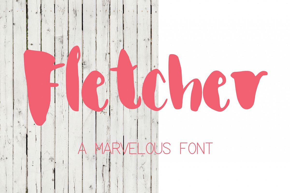 Fletcher Font example image 1