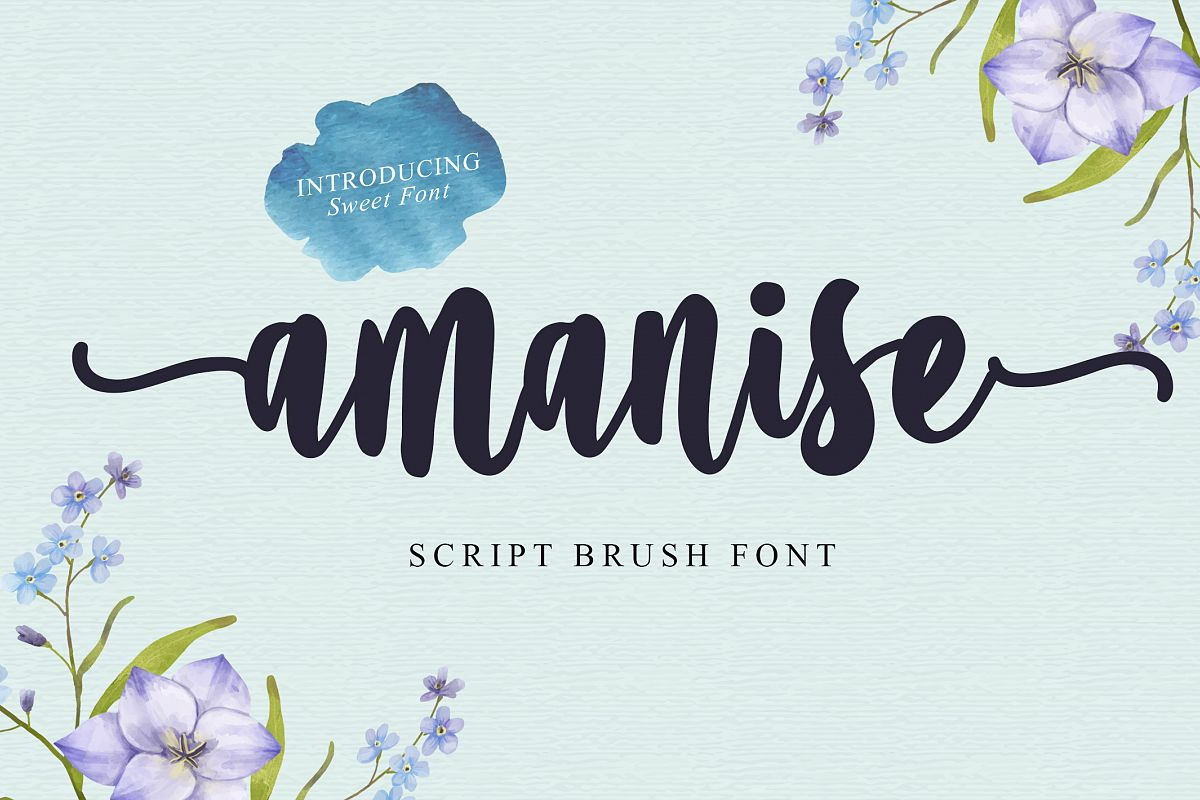 Amanise | Handwritten Script Font example image 1