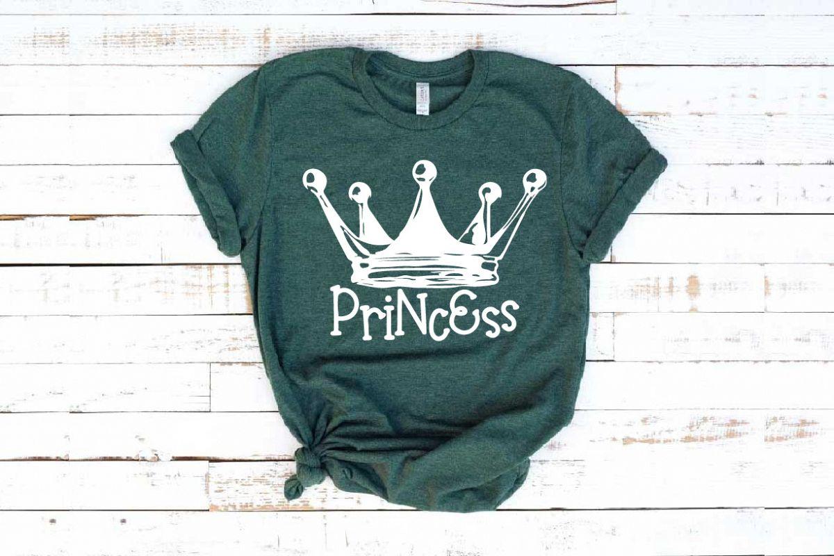 Princess Tiara SVG Fairy Tale Black Girl Magic 1260s example image 1