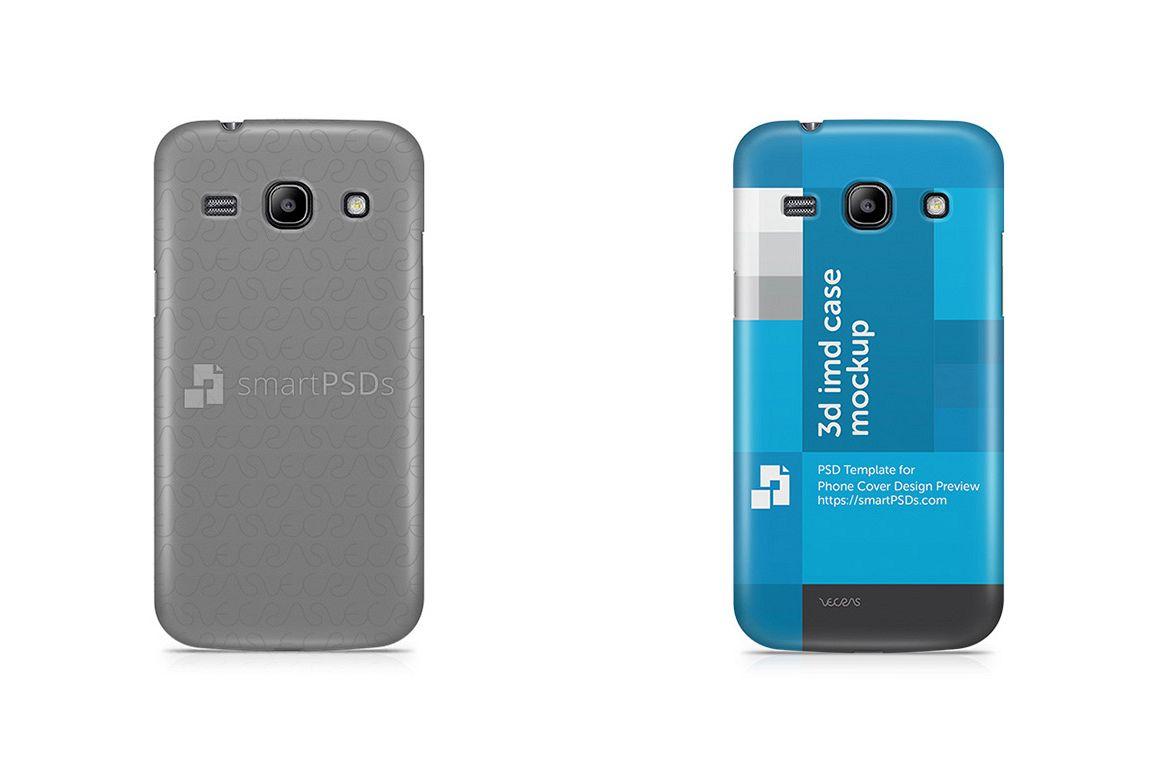 Samsung Galaxy Core Plus 3d IMD Mobile Case Design Mockup 2013 example image 1