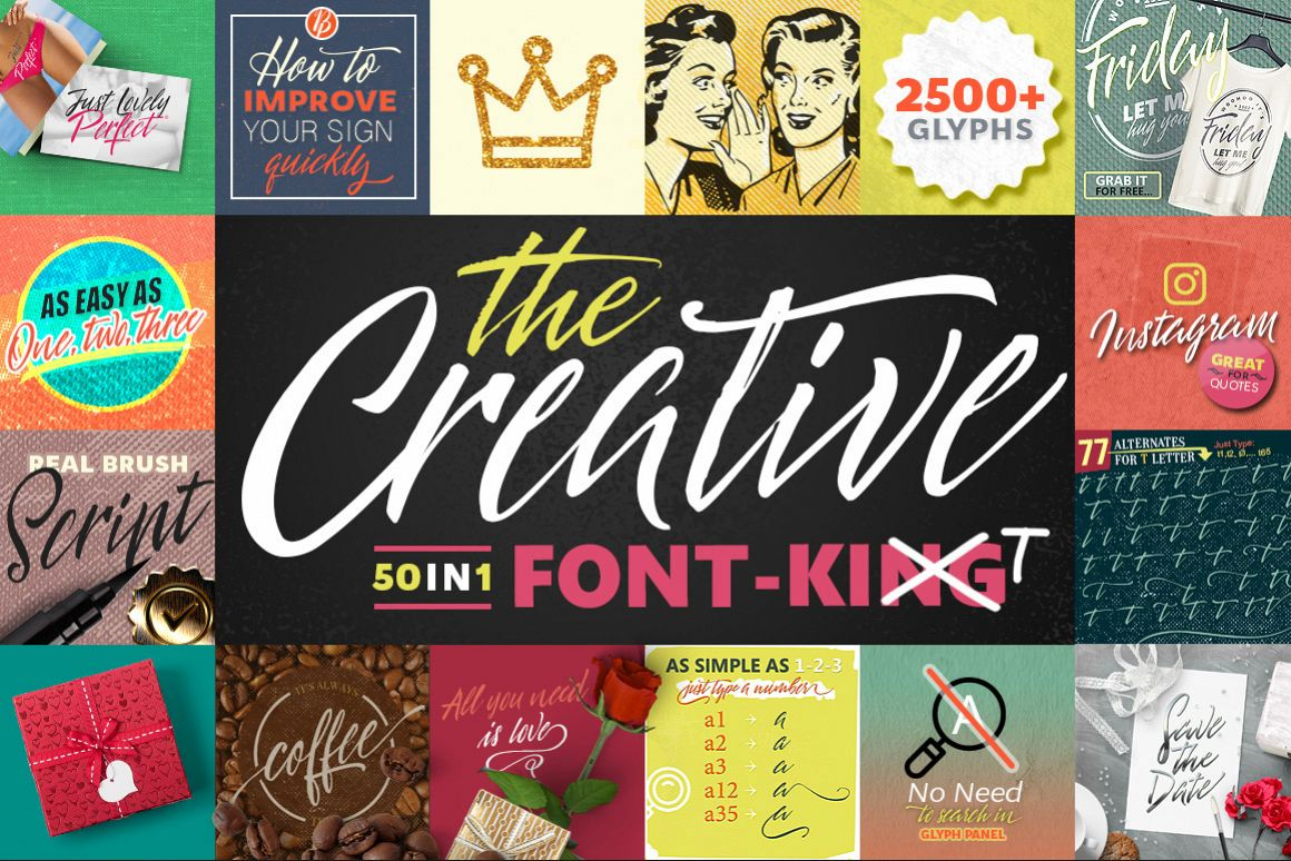 The Creative Font-Kit example image 1