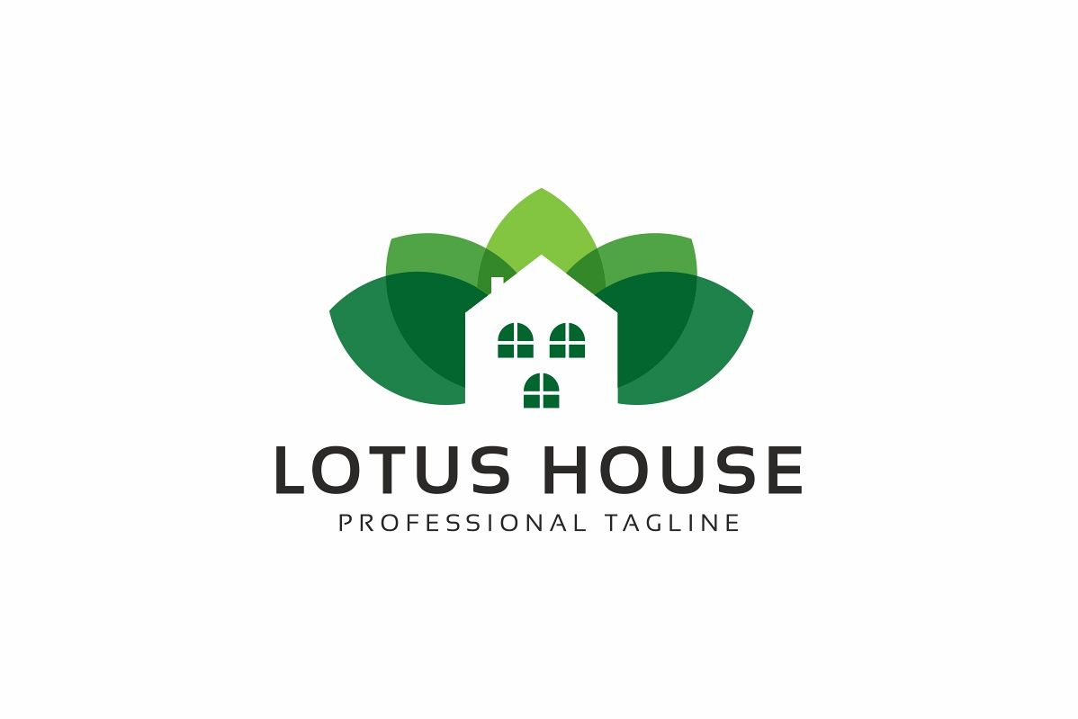 Lotus House Logo example image 1