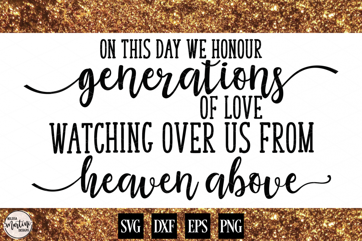 On This Day We Honour Generations of Love Wedding Sign example image 1