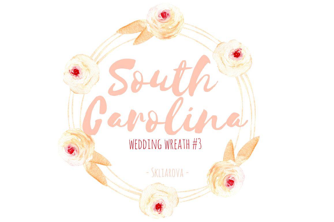 South Carolina. Wreath #3 example image 1