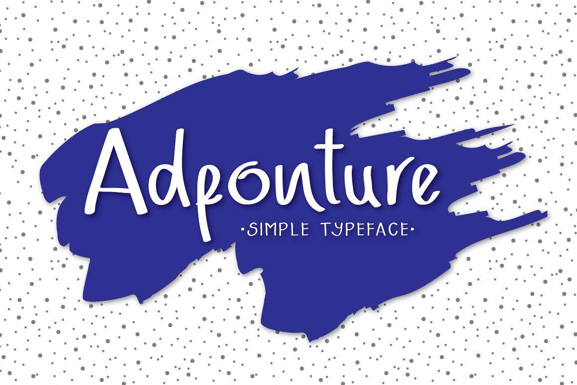 Adfonture Typeface example image 1