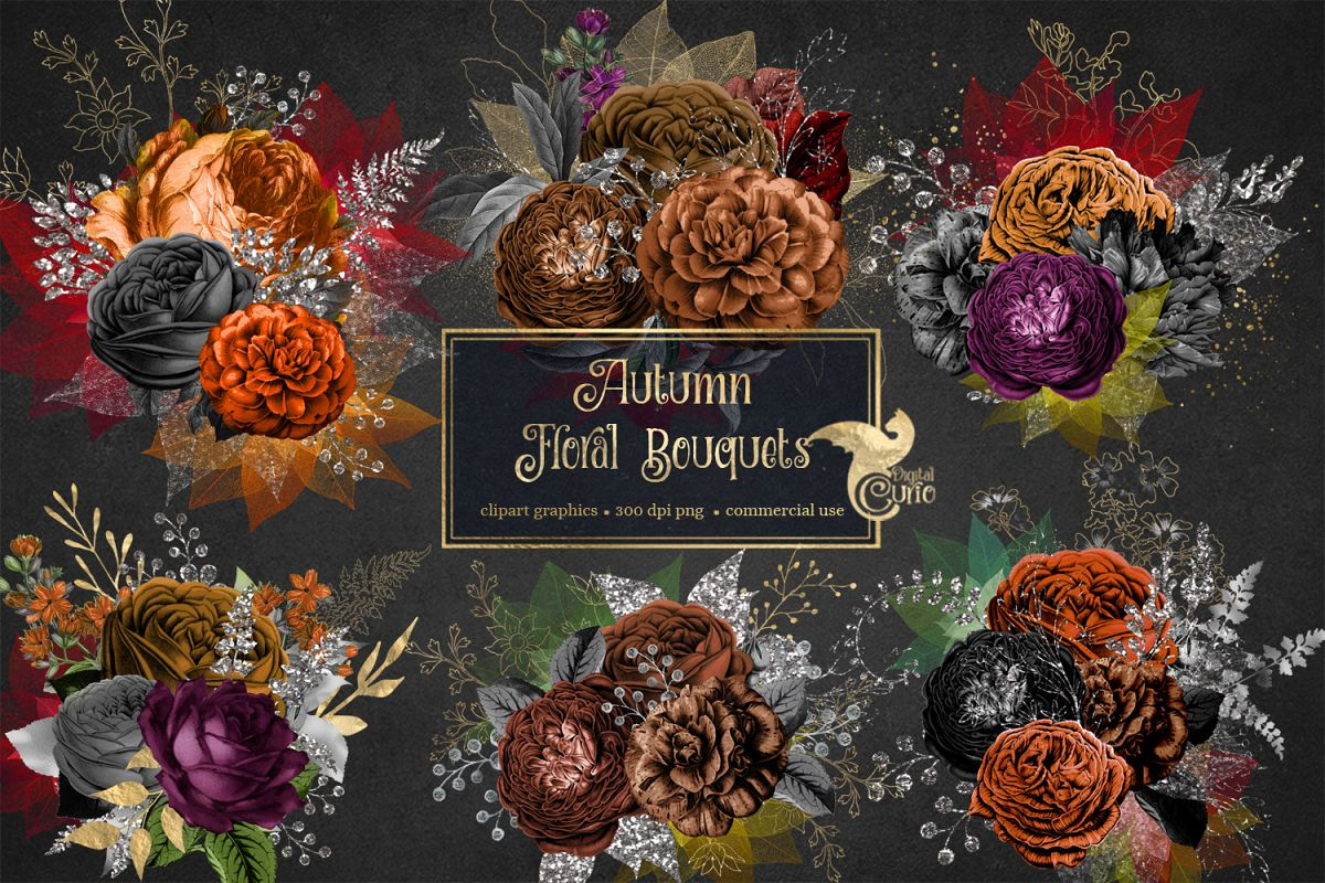 Autumn Floral Bouquets example image 1