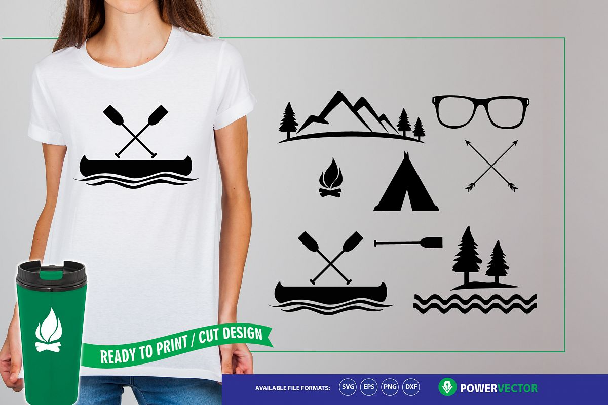Adventure Clipart - Summer SVG Collection example image 1
