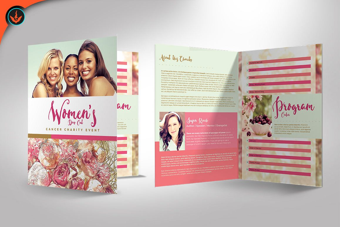 women u0026 39 s day out event program template