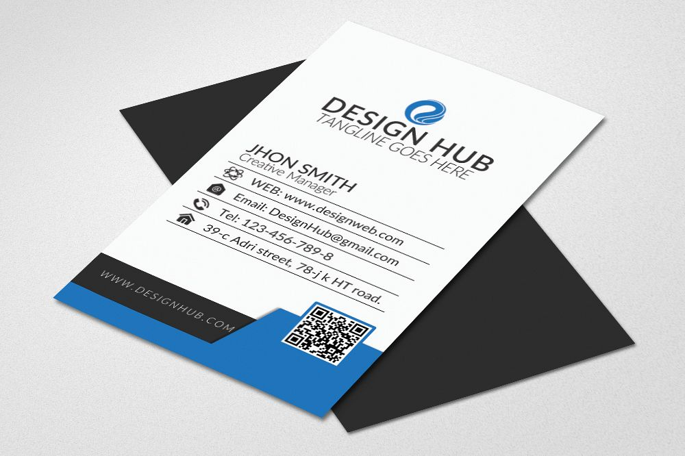 Business card template business card template example image 1 accmission Image collections