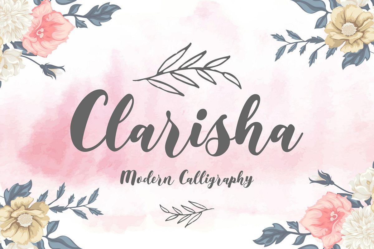 Clarisha Font Duo example image 1