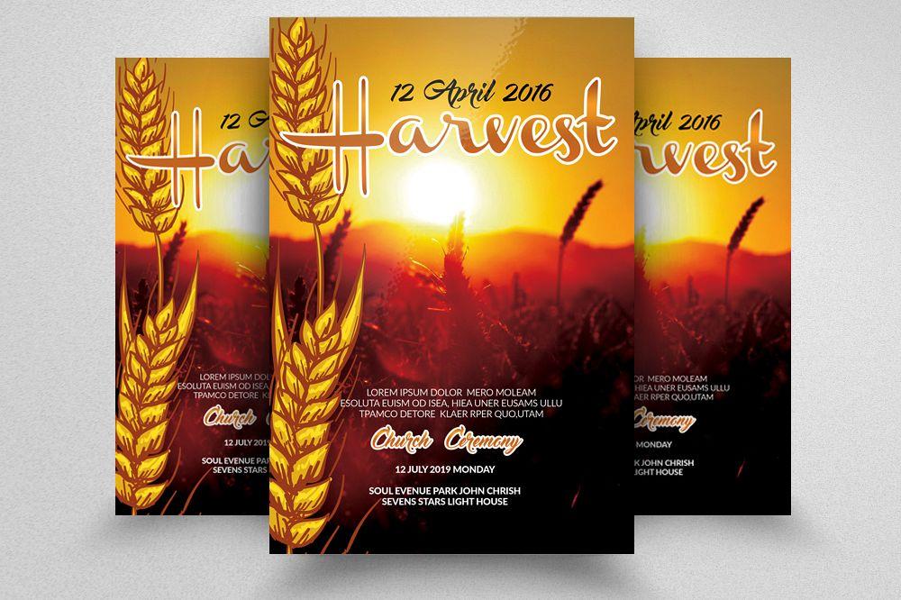 food harvest flyer example image 1