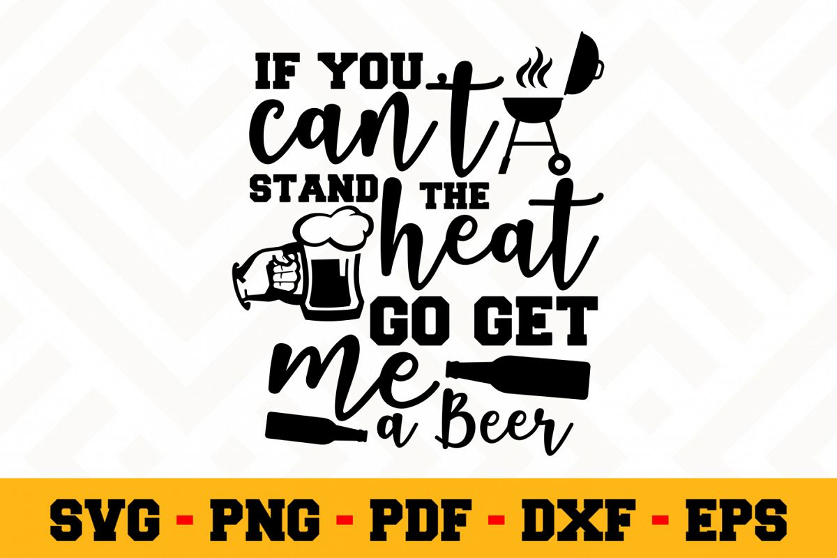 BBQ SVG Design n609 | Barbecue Grill SVG Cut File example image 1