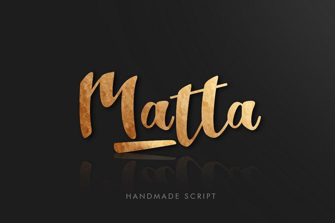 Matta Script example image 1